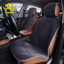 2 Adet Ücretsiz Kargo Araba Koltuğu Kapakları direksiyon simidi-renault logan Patchwork Cilt Değil Kap taklit kürk siyah sarı beyaz gri bej