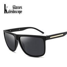 Caleidoscópio Unidade De Revestimento Óculos Polarizados Homens Óculos De  Sol Retro Clássico óculos de Sol Da Marca Branco Preto. 7fef0d7376