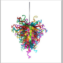 Hot Sale Colorful Chandelier Luminaire Customer Made