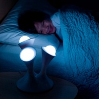 Creative Mushroom Night light colorful Glowing led lamp with removable balls children sleeping toy bedside lamp