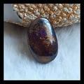 Natural Stone Boulder Opal Cabochon Bead 31*19*9mm 12.5g Semiprecious stone cabochon boulder opal pendant bead