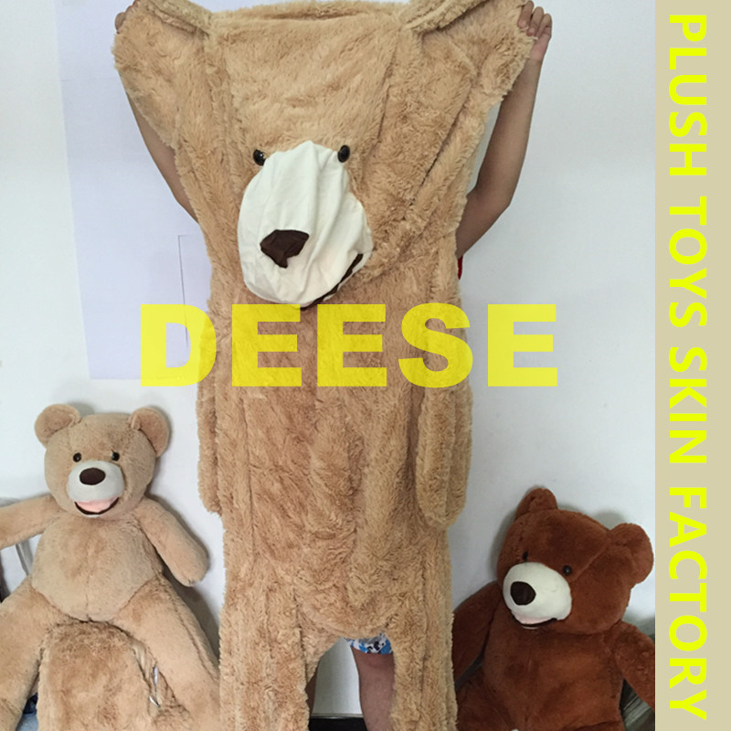 3ae8353a85e 340cm New Teddy bear skin Giant Luxury Plush Extra Large Teddy Bear coat Dark  Brown Light Brown-in Stuffed   Plush Animals from Toys   Hobbies on ...