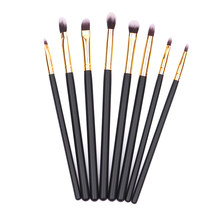 BBL 8 Pcs/set Pro Kosmetik Makeup Brushes Set Alat Eyeshadow Eyeliner Alis Concealer Bibir Mata Kecantikan Make Up Kit(China)