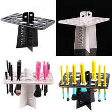 New arrival! Makeup Folding Collapsible Air Drying Makeup Brush Holder Mini Brushes Rack