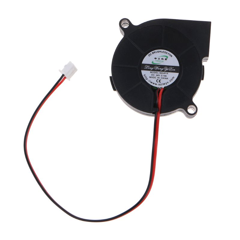 Brushless DC Cooling Blower Fan 5015 50x50x15mm Mute Sleeve Bearing|Blowers| |  - title=