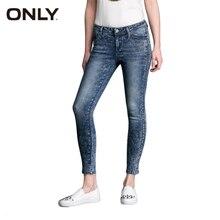Only горячие женщины sexy тонкий эластичный моды старинные беленой узкие джинсы девушка удобные случайные джинсовые брюки 115149028