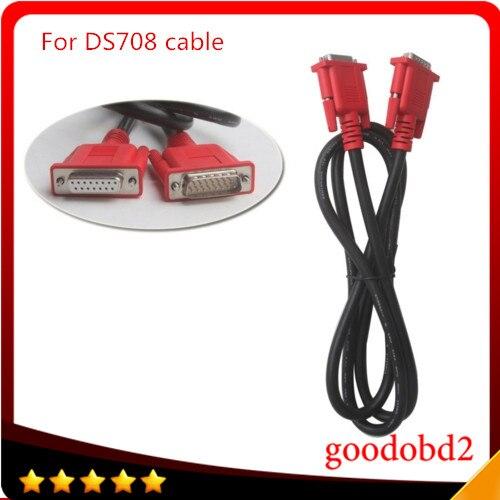 Für autel maxidas ds708 verbinden haupttest-kabel auto-diagnosewerkzeug obd2 16pin tester kabel verbinden ds708 diagostic port kabel