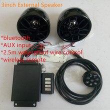 wire/wireless amplifier motorcycle speakers