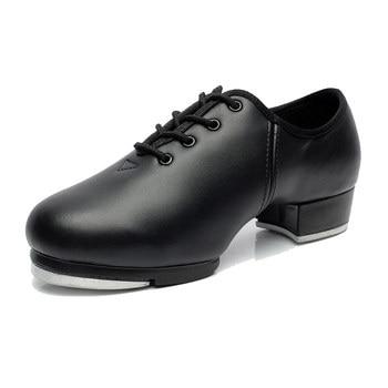 Sneaker Dance Erwachsene Spitze Bühne Leistung Rinds Weichen Boden Tap Schuhe Mann Tap Sport Tanzen Kinder Männlich Tanz Schuhe Männer