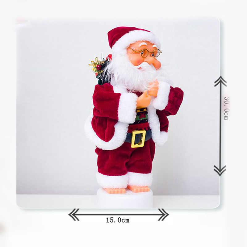 christmas santa claus doll