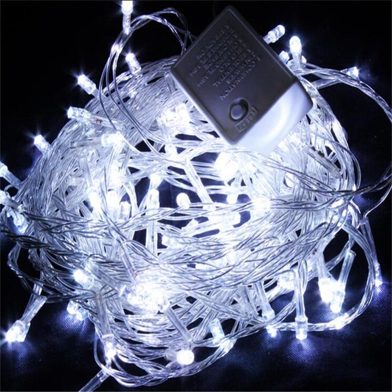 2018 Heißer Verkauf 100 Led 10 Mt String Licht Weihnachten/hochzeit/party Dekoration Lichterkette Beleuchtung Ac 110 V 220 V Durchblutung Aktivieren Und Sehnen Und Knochen StäRken