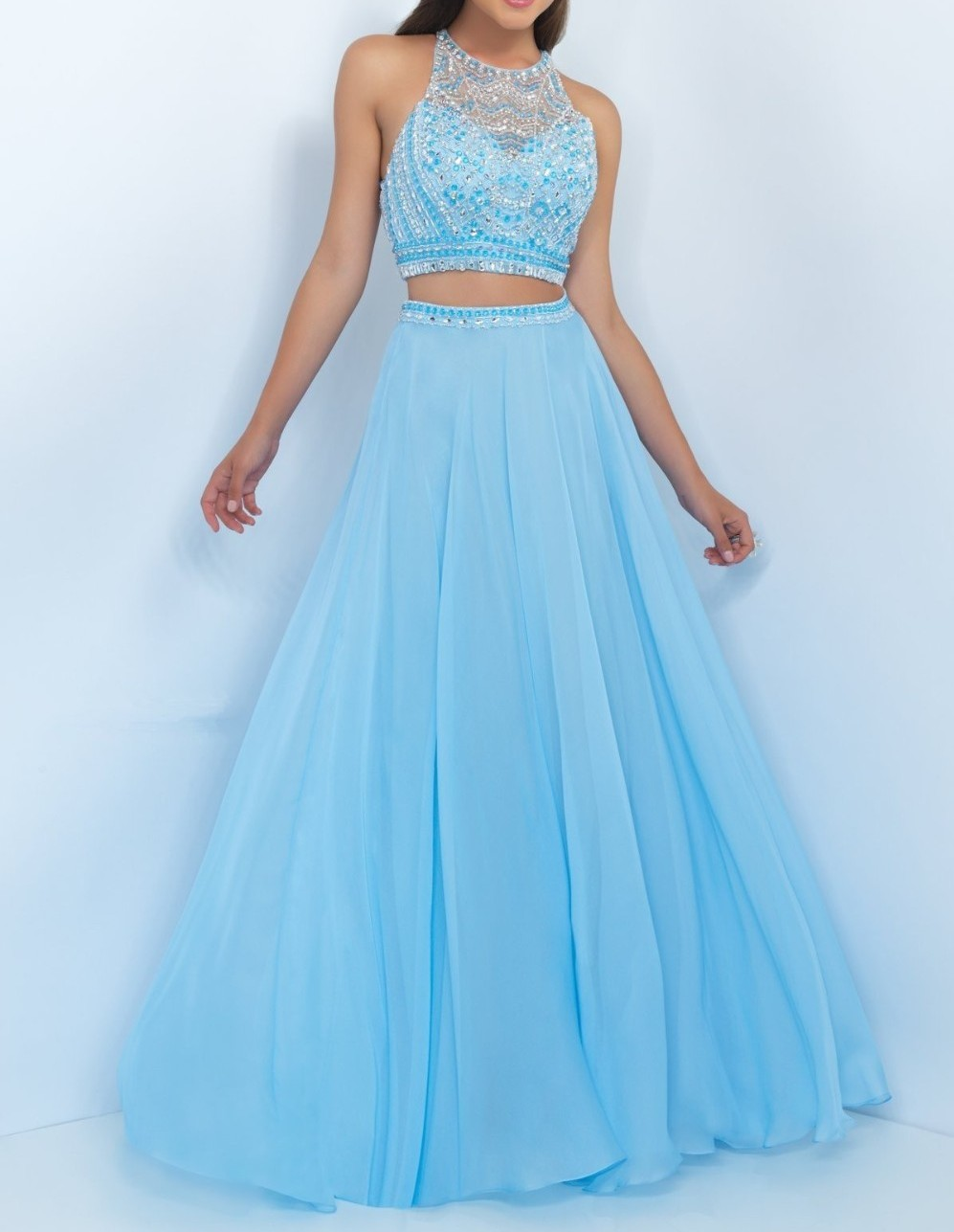 High Quality Halter Top Evening Gowns-Buy Cheap Halter Top Evening ...