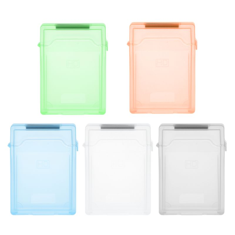 2.5 inch IDE SATA HDD Hard Disk Drive Protection Storage Box Protective Cover Hard Drive Protective Case Cover Game Accessories
