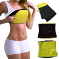 Neoprene Suor Hot Shapers Cintura Instrutor Hot Belt Barriga Cintura Shapewear Bodysuit do Espartilho Das Senhoras Cintas Cinto de Emagrecimento Gordura Queimada
