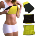 Neoprene Sweat Hot Shapers Waist Trainer Hot Belt Tummy Fat Burned Bodysuit Shapewear Waist Corset Ladies Girdles Slimming Belt
