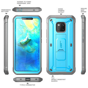 Image 4 - For Huawei Mate 20 Pro Case LYA L29 SUPCASE UB Pro Heavy Duty Full Body Rugged Case with Built in Screen Protector & Kickstand