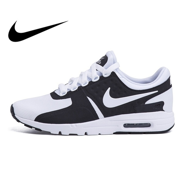 new arrival cff35 db6fc Original New NIKE AIR MAX ZERO Women's Running Shoes Breathable Outdoor  Sports Wear Resistant Sneakers Comfortable Low cut Shoes-in Running Shoes  from ...