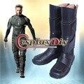 Marvel Comics X-Men Косплей Обувь Взрослых мужская Косплей Ботинки Сшитое