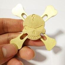New Original Skull Torqbar Alloy Fidget Hand Spinner Tri-spinner For Adult To Reduce Pressure Fidget Spinner
