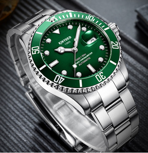 Image 5 - KINYUED แบรนด์ผู้ชายนาฬิกาอัตโนมัติบทบาทวันที่ Fashione luxury Submariner นาฬิกา Reloj Hombre Relogio Masculino