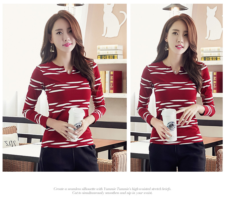 HTB15xfnSpXXXXczapXXq6xXFXXXy - 2017 Autumn Winter Korean T-shirts For Women Cotton Fashion T Shirt