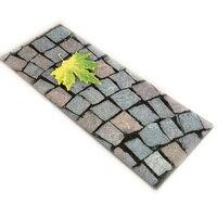 3D Printed Flannel Floor Mat Carpet Anti Slip Kitchen Mat Bathroom Mats Entrance Doormat Balcony Carpets