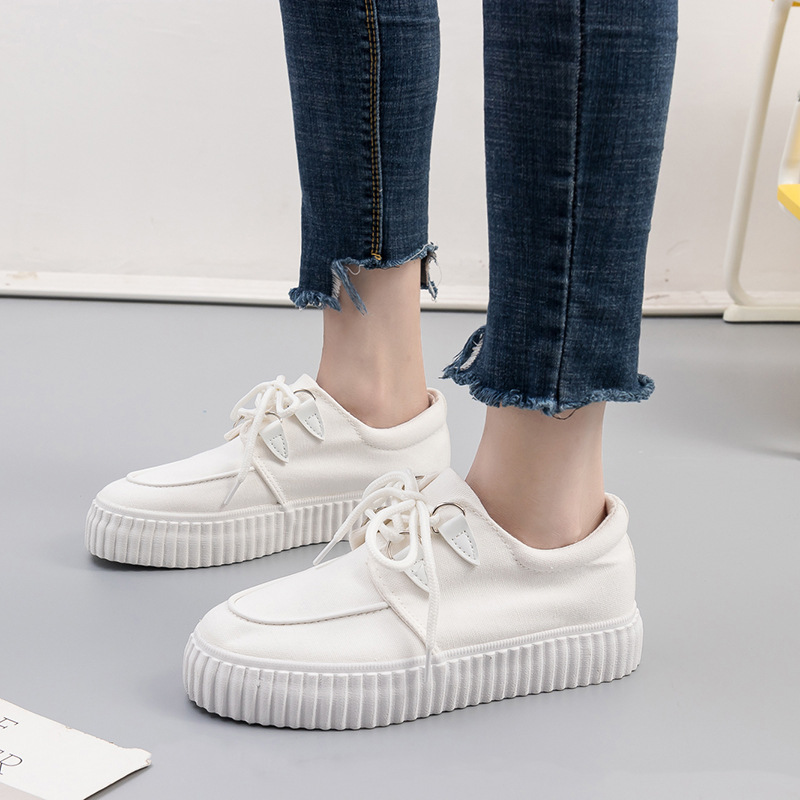 Wholesale 2019 spring new small white shoes female student shoes wild Korean plate shoes wholesaleWholesale 2019 spring new small white shoes female student shoes wild Korean plate shoes wholesale
