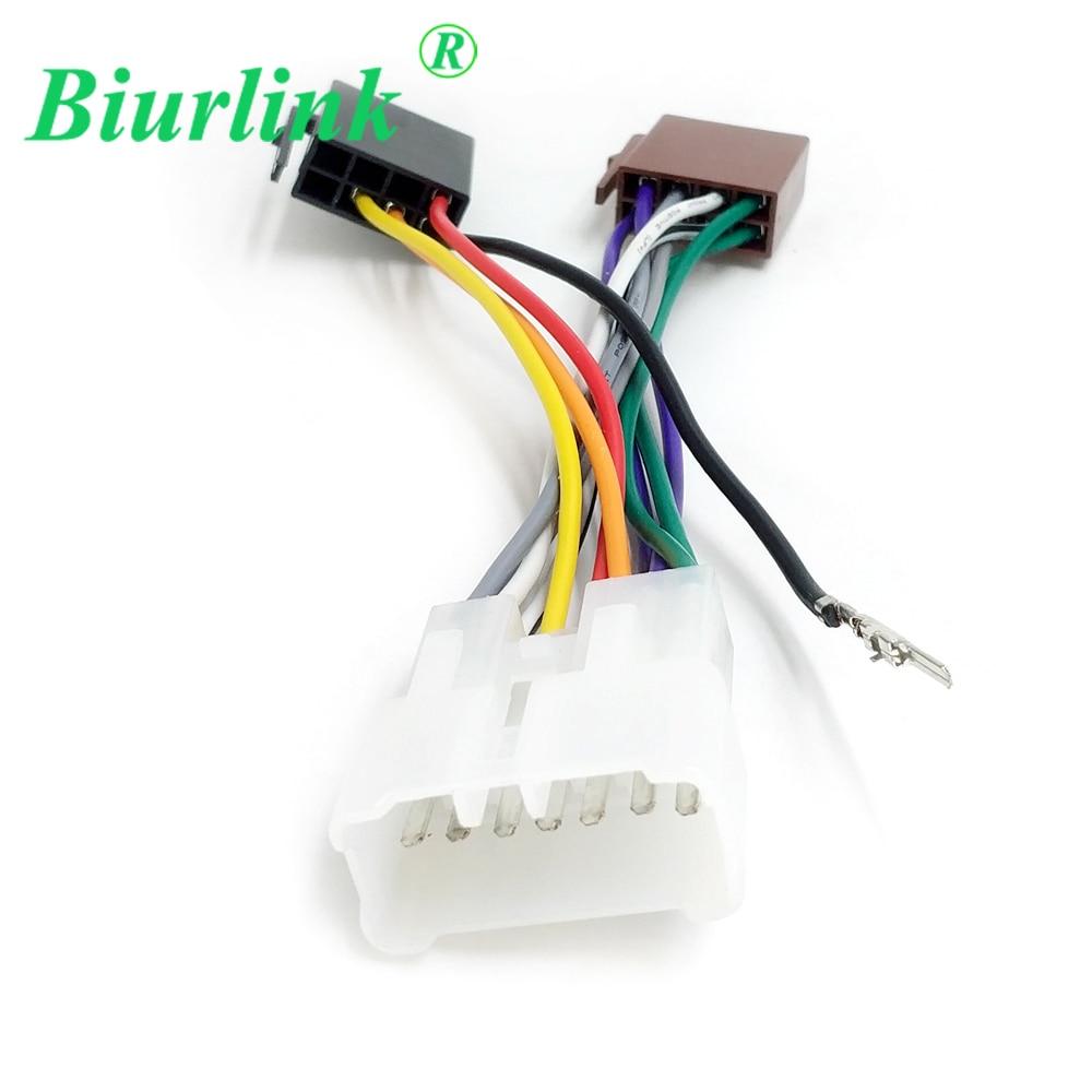 hight resolution of biurlink car stereo changer iso harness wire cable adapter for suzuki alto grand vitara liana for