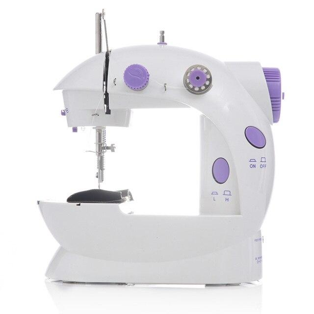 2019 Mini Draagbare Handheld naaimachines Naaien handwerken Cordless Kleding Stoffen Electrec Naaimachine Stitch Set 16