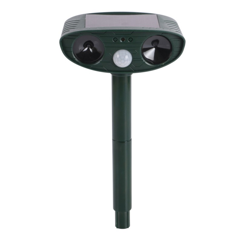 Cat Repeller Animal Repeller Cat Scarer Dog Ultrasound Pest Control Powerful Solar Powered Outdoor PY