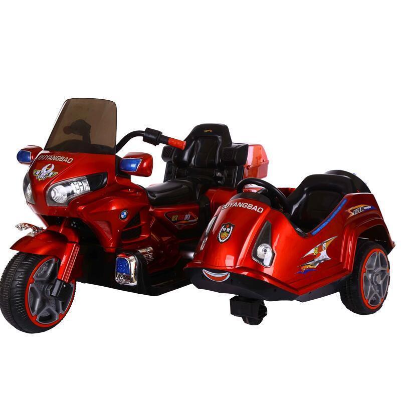 Enfant électrique moto Tricycle Rechargeable jouet enfants Scooter électrique moto pied Ride sur voiture trois roues