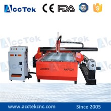 Factory price Chinese plasma cnc router machine lathe, plasma tube cutting machine