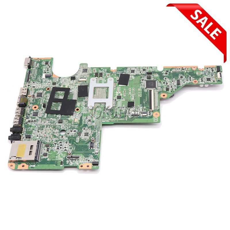NOKOTION для HP Compaq G62 CQ62 материнская плата для ноутбука 634648-001 DAAX1JMB8C0 I3-350M CPU DDR3