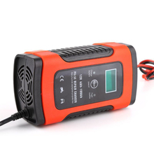 12V 5A Intelligent Smart Car Battery Charger 12v Automatic For Lead Acid Battery Charging Pulse Repair LCD Display 100v-240V
