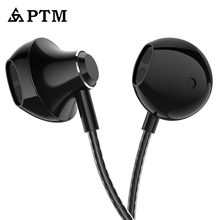 3.5mm Jack Wired Earphones with Remote Mic Headphones Standard Retail Packaging Headsets for iPhone iPod White Black Golden