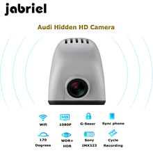 Jabriel auto IOS/Android wifi 1080 P nascosta dell'automobile dvr dash cam video recorder macchina fotografica dell'automobile per audi a3 a4 a5 a6 a7 a8 q5 q7 2006-2018