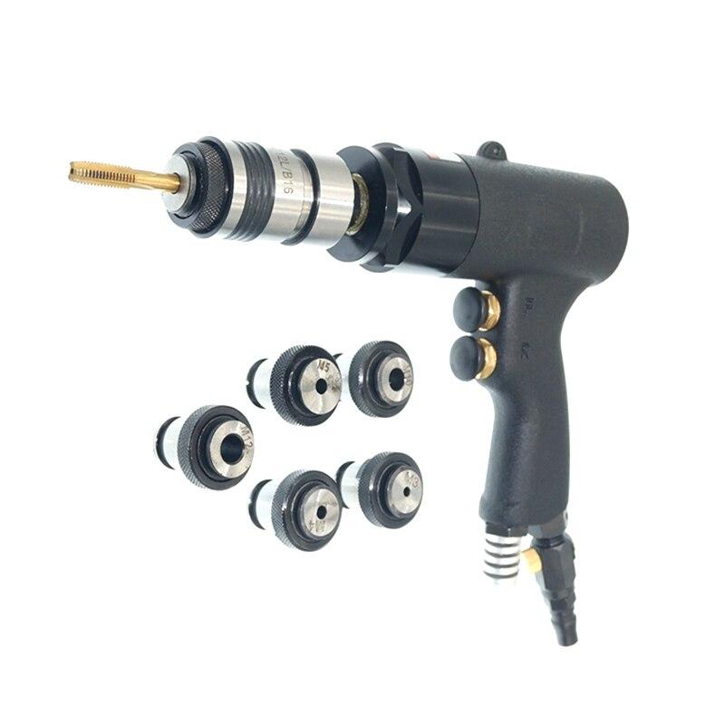 gun type pneumatic tapping tool M3 M12 air tapping gun wind tapping machine tap drilling pneumatic
