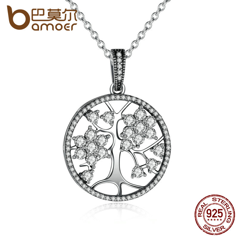 bamoer-classic-925-sterling-silver-tree-of-life-round-pendant-necklaces-for-women-fine-fontbjewelry-