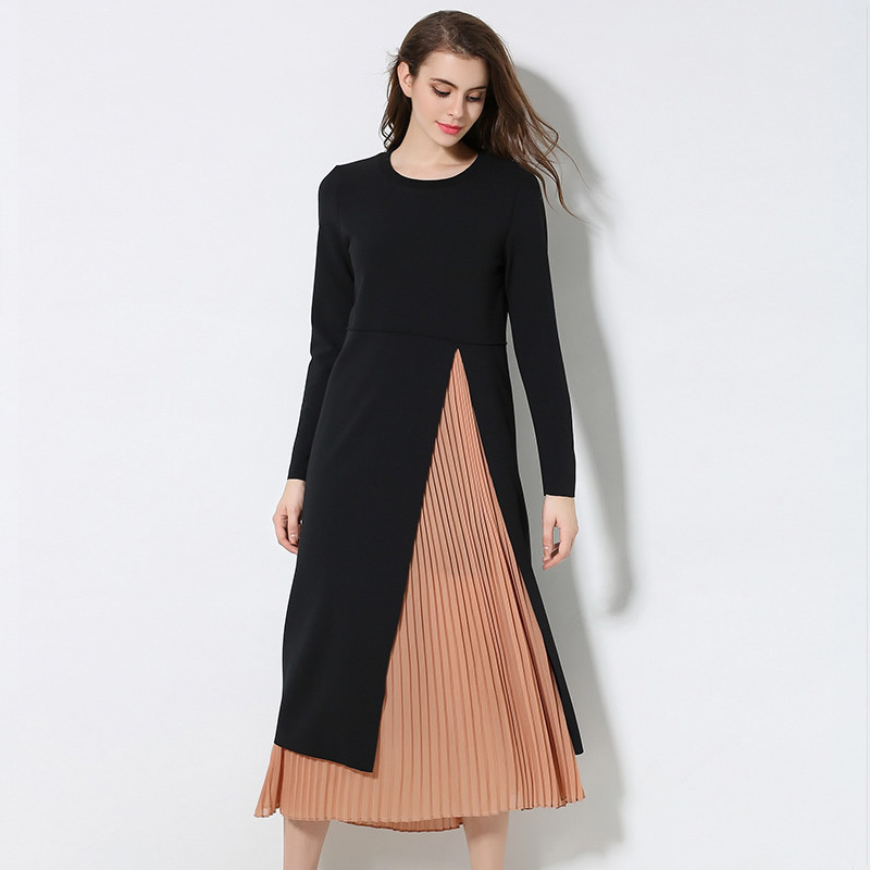 OUYALIN L- 3XL 4XL 5XL Plus size Dress 2018 Women Long sleeve Autumn Winter Office  Ladies Button Straight Red Plaid Dresses 61e0237ae1c8