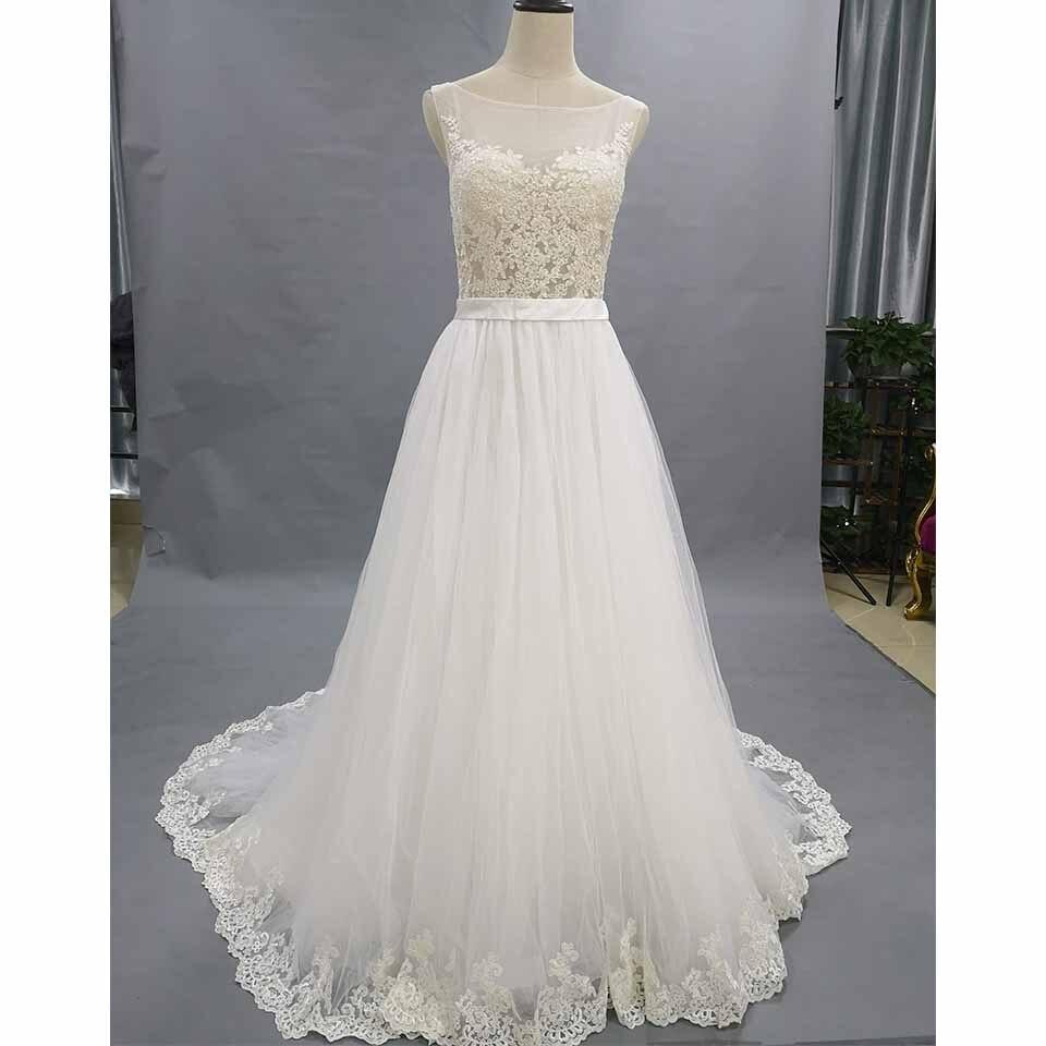 Greenspine A Line Wedding Dresses 2019 Robe De Mariee