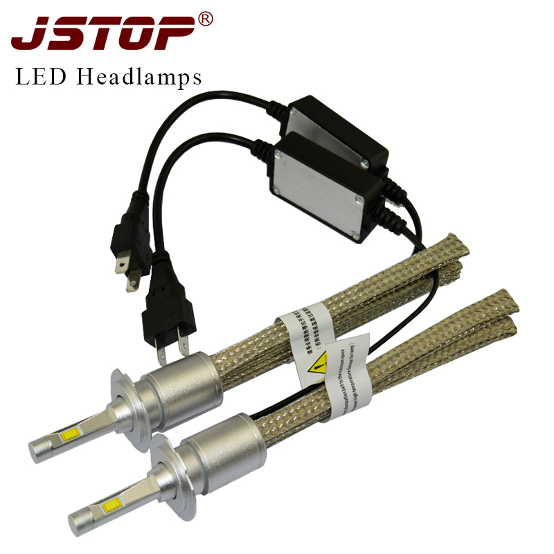 led car headlight bulbs H4 high/low beam H7 H11 9005 HB3 9006 HB4 canbus Automobiles 6000K bulbs external light led headlamps