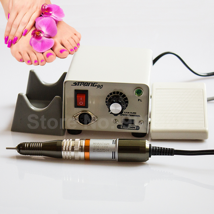 Сильный 90 микромотор Корея SAEYANG Марафон H20 ДРЕЛЬ Dremel пилочка для ногтей, янтарь, дерево, плесень, камень, антиквариат, Коралловый полировки