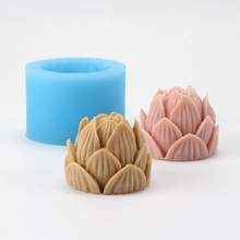 Nicole Silicone Soap Mold for Natural Handmade Lotus Shape Craft Resin Clay Chocolate Candy Mould