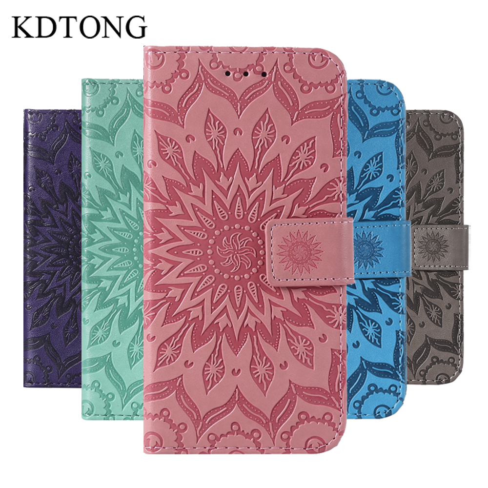 KDTONG Phone Case sFor Huawei P20 Lite Case Embossing Flip Leather Magnetic Wallet Cover For Huawei P20 Pro P 20 Case Cover Capa in Flip Cases from Cellphones Telecommunications