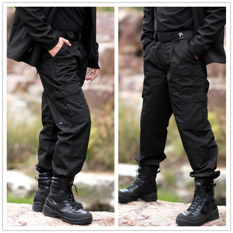 Some say that tactical is the new black. And when you think about stealth or about a SWAT team booming through some scumbag's front door, black dominates your vision. It only makes sense that black is the most popular tactical pants color, and it probably won't surprise you that it's also our favorite.