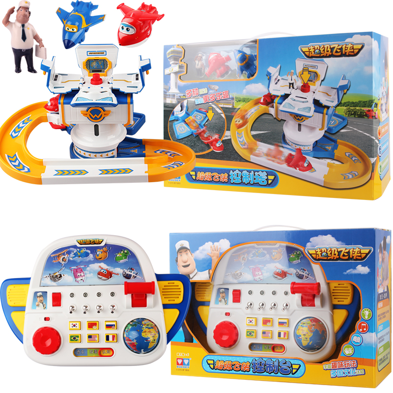 2016 new arrival Super Wings centre control with Planes Action Figures Transformation children Christmas Gifts