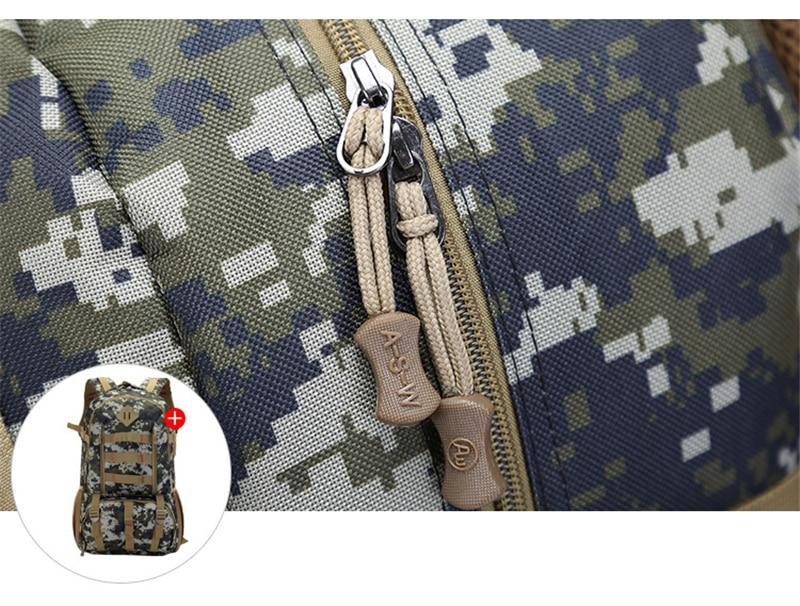 Equitação mochila mochila tático saco militar ventilador