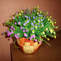 1Pcs Artificial Plants Green Grass Plastic Fake Flowers 28cm Length Simulation Flower For Home Wedding Party Decoration