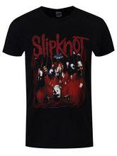 Slipknot T-shirt Band Frame Mens Black