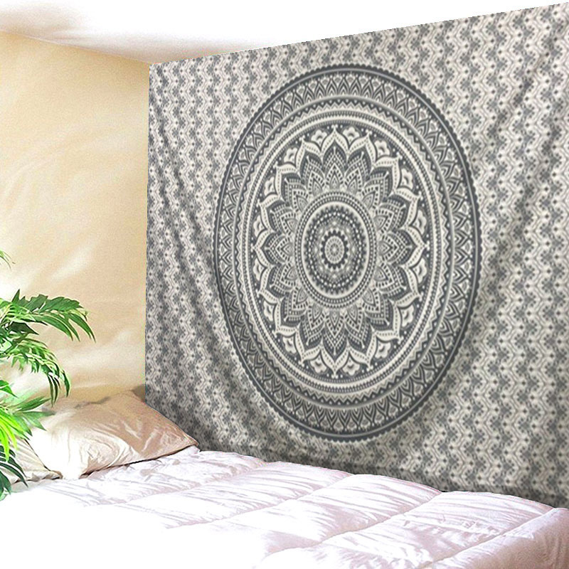 Mandala Polyester 200*150 CM Square Tapestry Wall Hanging Carpet Throw Yoga Mat for Home Bedroom DecorationTapestry|Decorative Tapestries| |  - title=